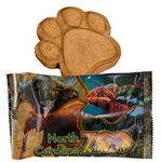 Wrapped Up Paw Print Dog Cookie