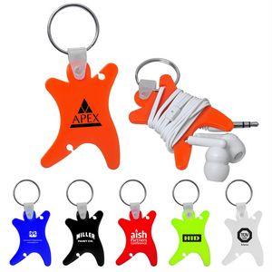 Dancer Keychain w/Ear Buds