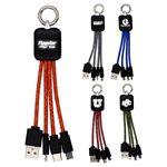 Custom Ridge Logo Light Up Cable with Type C USB