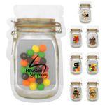 Custom Mason Jar Bag of Candy