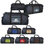 Custom Watermark Pocket Duffle Bag