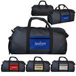 Custom Metallic Pocket Duffle Bag