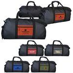 Custom Ridge Pocket Duffle Bag