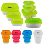 Custom Square Portion Control Containers