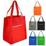 Custom Wave Grocery Shopper Bag (Blank)