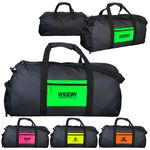 Custom Neon Pocket Duffle Bag