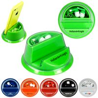 Clear View Ear Bud Phone Stand