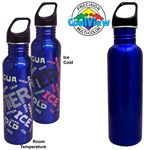 Custom 26 Oz. CoolView Stainless Excursion Water Bottle (Screen Printed)