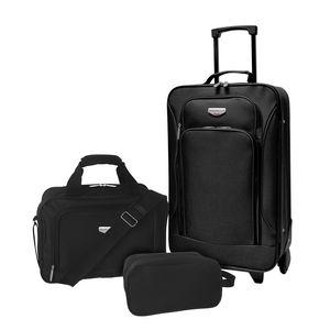 82c9b7c679 3pc EVA-Styled Carry-on Luggage Set - EVA-12203 - Brilliant Promotional  Products