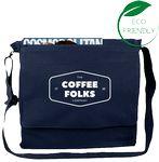 Custom Messenger Bag / Laptop Bag - (13x13x3) 10oz Canvas Navy
