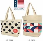 Custom Made in USA Totes - 12oz Canvas
