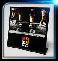 """Black Acrylic Display (5"""" x 5"""" x 1/8"""")"""