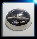 Custom Lucite Dome Award(3 3/8