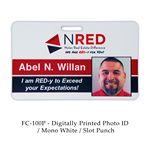 Custom Digital Full Color Photo ID
