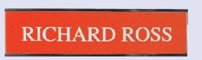 Engraved #5 Wall or Desk Sign w/Plexiglass Base (1 Lines / 2x8)