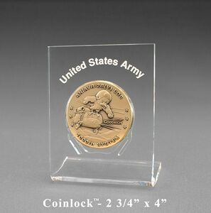 Coinlock Coin Display/ Award (2 3/4