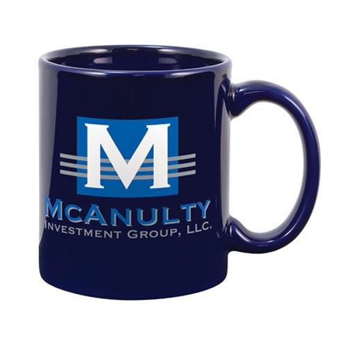 11 Oz. Premium Royal Blue Ceramic Creative Mug