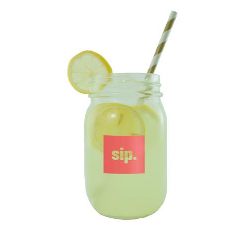 Beverage Jar 16 oz