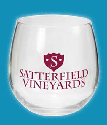 Stemless Wine Glasses (16.75 Oz.)
