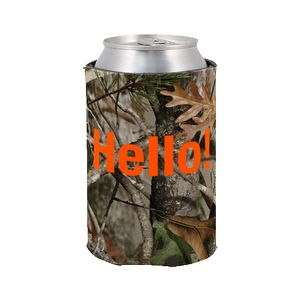Custom Imprinted Camouflage Can Coolers!