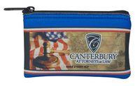 """Scuba Foam Mini Wallet Coin Bag - 4 Color Process (5""""x3"""")"""
