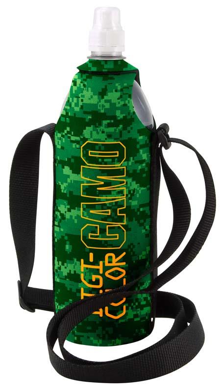 DigiColor Camo 1 Liter Kolder Water Wet Suit Bottle Cover w/ Shoulder Strap