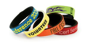Custom Printed Neoprene Wristbands