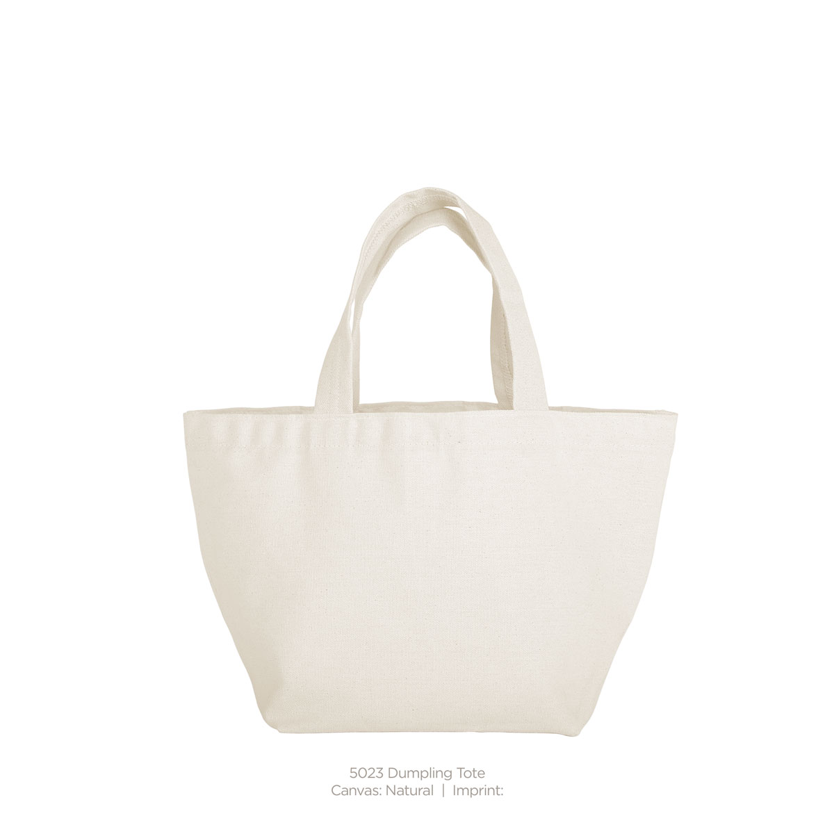 Dumpling Tote (natural canvas)