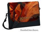 Custom Standard Neoprene Laptop Messenger Bag- 4C Process (10 4/5
