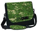 Custom Neoprene Messenger Bag w/ DigiColor Camo Flap (13