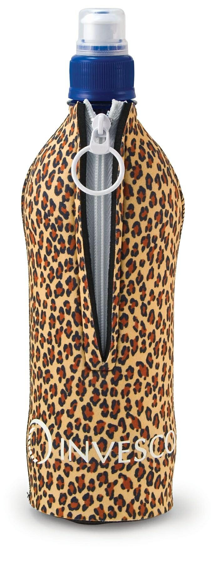 Kolder Jumbo Suit Bottle Cover w/ Zipper - 4C Process (For 20 Oz. Bottle)