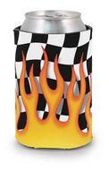 Flames Scuba Pocket Coolie Can Cover (4 Color Process)