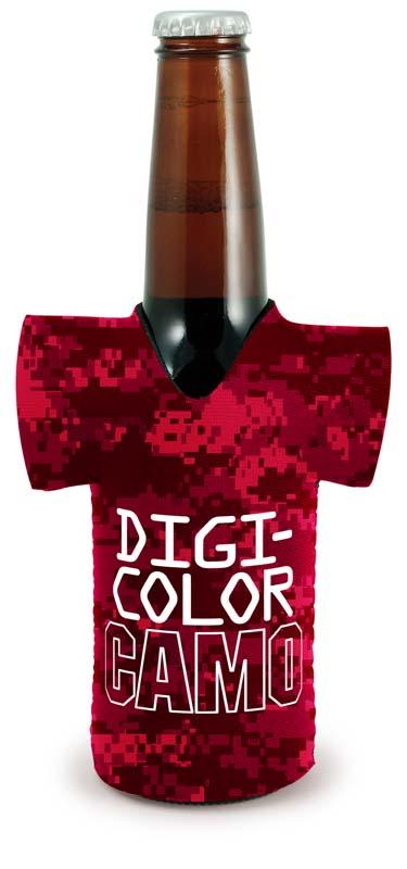 DigiColor Camo Kolder Jersey Long Neck Bottle Cover (4 Color Process)