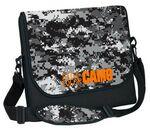 Custom Neoprene Messenger Bag w/ DigiColor Camo Flap (12 2/5