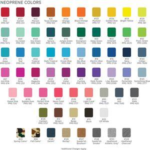 Neoprene Colors
