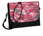 Custom Std. Neoprene Messenger Bag w/ DigiColor Camo Flap (10.8
