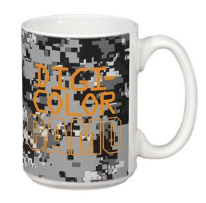 Custom Imprinted Camouflage Ceramic Mugs!