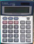 Custom Canon LS100TS Tax & Margin Portable Calculator