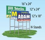 Single Sided Yard Sign (12