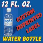Custom 12 Oz. Bottled Water 1