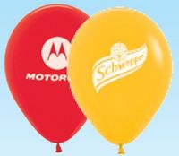 """Helium Latex 15"""" Balloon (1 Side, 1 Color)"""