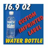 16.9 Oz Custom Label Bottled Water
