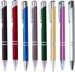 Custom JJ Series Double Ring Pen w/ Chrome Trim- Gunmetal (gray)