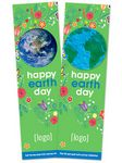 Seed Paper Earth Day Shape Bookmark