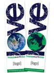 Seed Paper Shape Bookmark - Earth Day