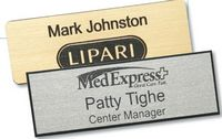 "Rectangular Plastic Name Badge (2""x3"")"