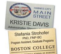 "Colorgrave Plus Rectangle Name Badge (1.5""x3.5"")"