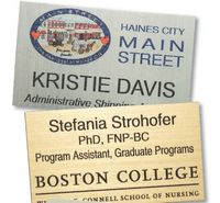 "Colorgrave Plus Rectangle Name Badge (3""x3.5"")"