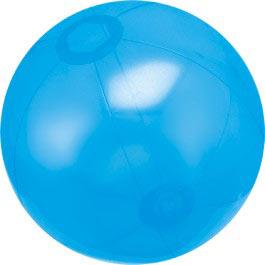 Custom Designed Blue Translucent Beach Balls!