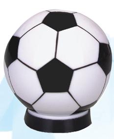 Custom Printed Soccer Ball Banks